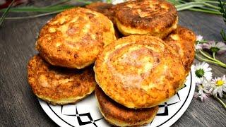 Шанежки с мясом на сковороде - пошаговый рецепт