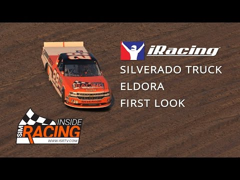 iRacing Dirt First Look Part I - NASCAR Chevy Silverado at Eldora Speedway