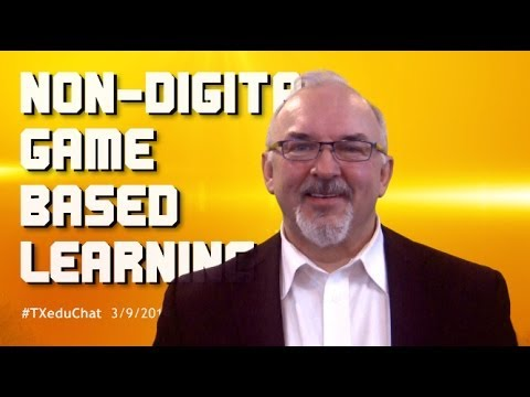 Non-Digital Game Based Learning