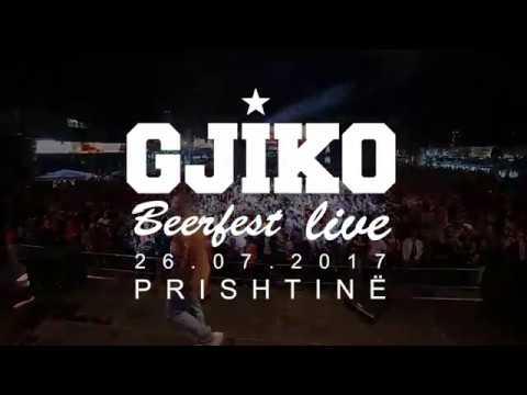 Gjiko - Beerfest , Prishtinë Live Show