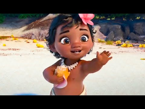 MOANA All Best Movie Clips (2016)