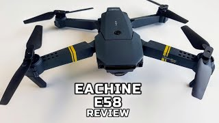 Eachine E58 Drone Unboxing and Review