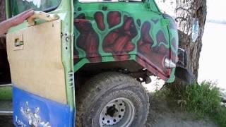 Автомобиль для охоты и рыбалки, своими руками.(HD).