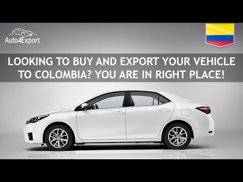 Shipping Cars From USA To Colombia - Auto4Export