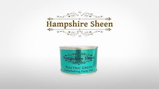 How to Apply Hampshire Sheen Electric Green