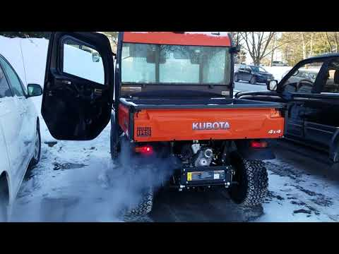2017 Kubota RTV X1100C Extremely Cold Start