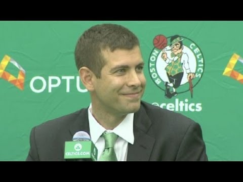 Brad Stevens - Full Press Conference - Celtics introduce him as a head coach