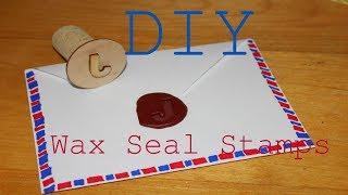 DIY Wax Seal Stamps {3 different ways}