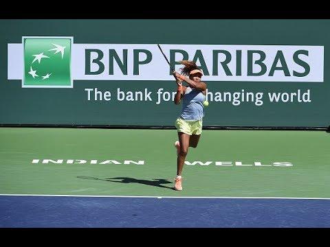 2018 Indian Wells Final   Shot of the Day   Naomi Osaka