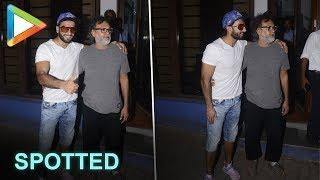 SPOTTED: Dynamic Ranveer Singh with Director Rakeysh Omprakash Mehra