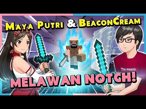 Basmi Bos SUPER Kuat Minecraft! ft. BeaconCream!! | Minecraft Indonesia (Collab) (Vtuber/Episode 71)