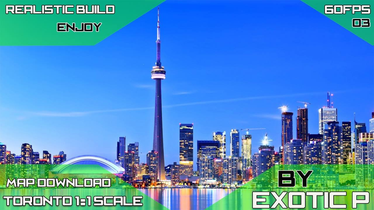 Toronto Perfect 1 1 Scale Map Download Cities Skylines 60fps