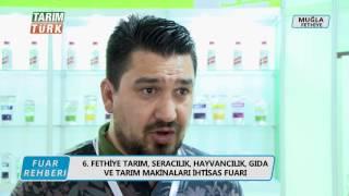 TARIM TÜRK TV Fuar Rehberi  Fethiye 2016  Eftar Tarım