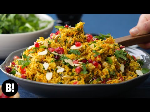 Quick & Easy Moroccan Couscous (Vegan)