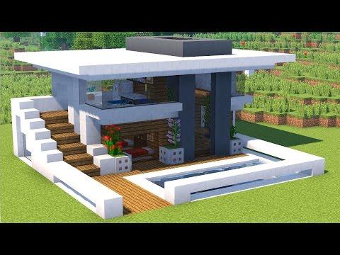 Как построить хай тек дом в майнкрафте