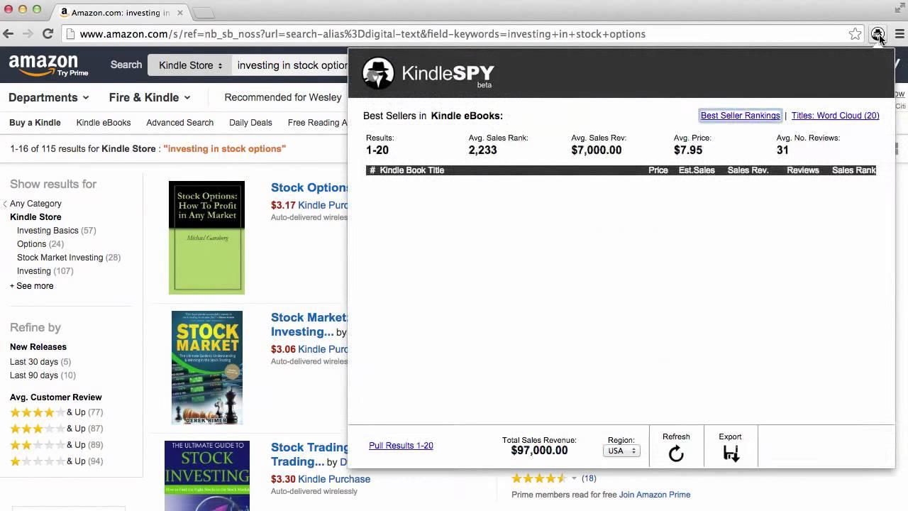 amazon niche finder free