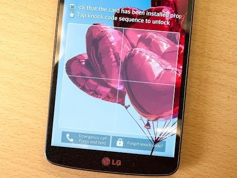 How to set up Knock Code on the LG G Pro 2