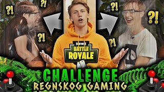 REGNSKOG GAMING CHALLENGE 🌴💦 **FORTNITE med HERMAN DAHL & MURDROCKS**