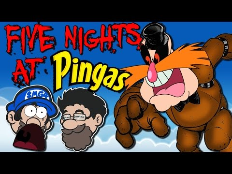 SCARED OF MEMES || Five Nights at PINGAS || HOBO BROS