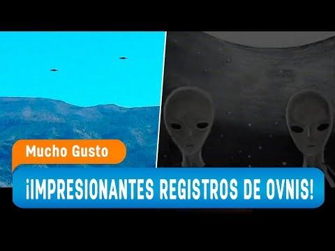 ¡Impresionantes avistamientos de ovnis en Chile! - Mucho Gusto 2019