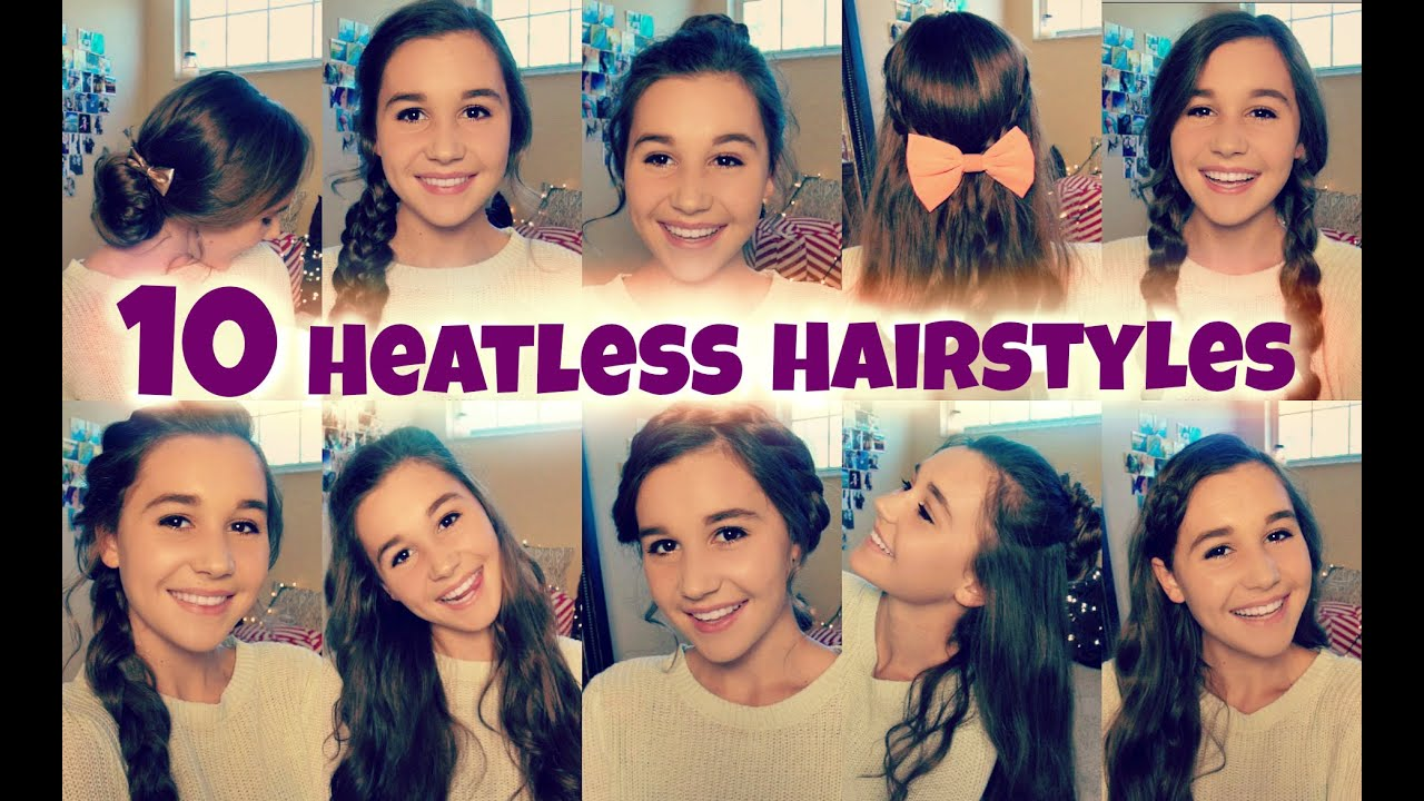 4 ways to do cute middle school hairstyles - wikihow