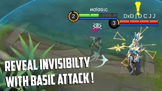 REVEAL INVISIBLE NATALIA WITH BASIC ATTACK! | Mobile Legends Experiments | MLBB