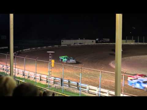 EWSC Racing WDLMA Late Model Feature 8/1/2012