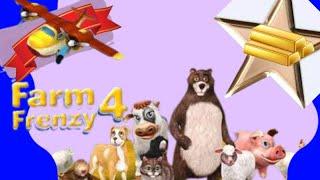 Farm Frenzy 4 gold rank all level