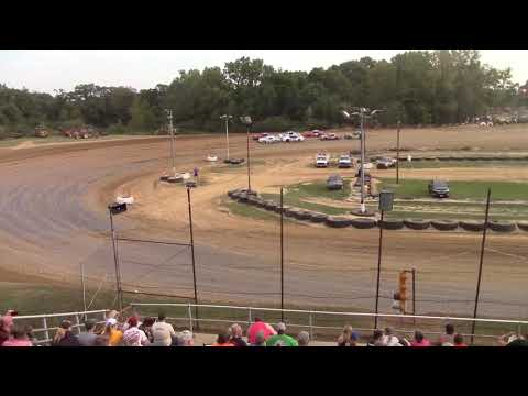 MSSC heat race: Spoon River Speedway,9/03/2017(Jeremy Nichols)