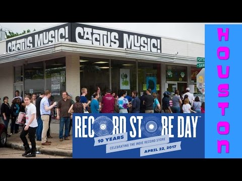 Yeah, Yeah...Yet Another Record Store Day Video?!  Cactus Music, Houston 2017