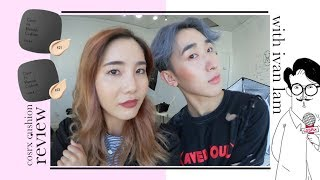 cosrx blemish cushion foundation for a week ft ivan lam