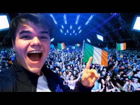 MEETING 1000 JELLY FANS IN IRELAND!
