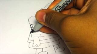 How to draw Harold Hutchins from Captain Underpants