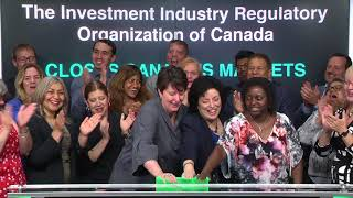 The Investment Industry Regulatory Organization of Canada Closes Toronto Stock Exchange, 06/28/18