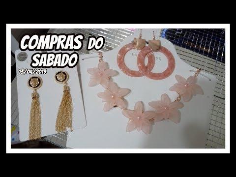 COMPRAS DO SABADO/ 13/04/2019