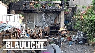 Granaten explodieren in Garage von Munitions-Freak - Zu viel Sonne?