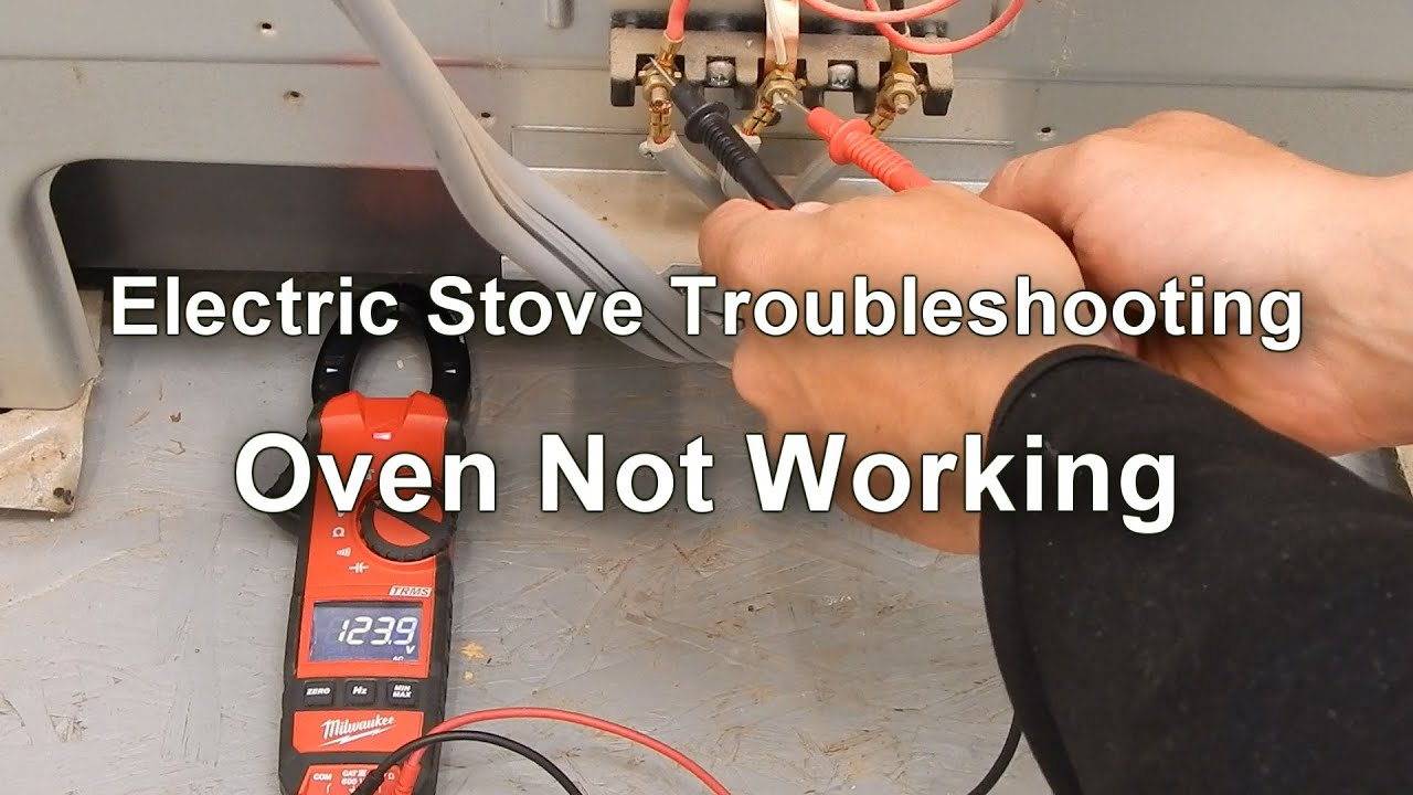 Electric Stove Troubleshooting Oven Not Working Youtube Photoelectric Eye Wiring Diagram 4 Wires