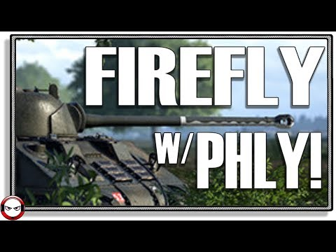 Post Scriptum -Sherman FIREFLY TANK SUPPORT with PhlyDaily!