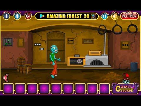 Halloween Party House Escape 14 Walkthrough Games4escape