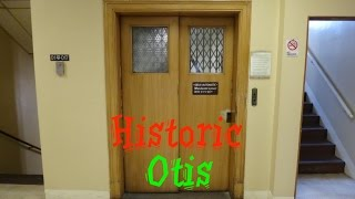 Mini eleva TOUR of 70 Woodfin Place historic OTIS elevators Asheville NC