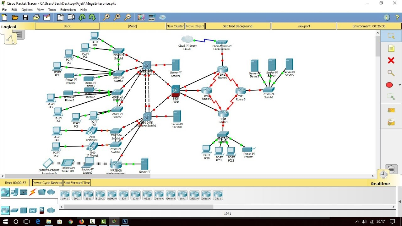 Building a great mega enterprise network on packet tracer for How to find a good builder in your area