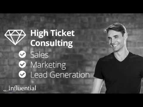 High Ticket Consulting Sales, Marketing & Lead Generation
