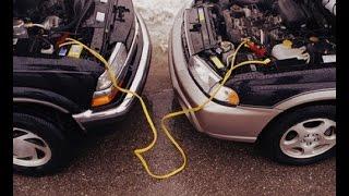 Как прикурить аккумулятор от другой машины?(Порой единственный способ быстро завести машину когда сел аккумулятор, это прикурить от другого автомобил..., 2015-04-18T13:42:29.000Z)