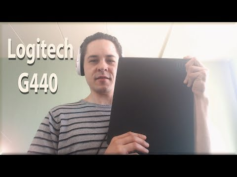 Logitech G440 Mousepad Review - Stays Solid & Firm On Glass Table