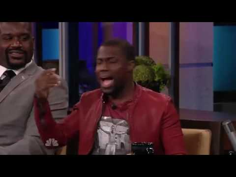 Kevin Hart Gets Picked Up By Shaquille O Neal - Hilariously Funny