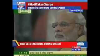 Narendra Modi Crying in parliament