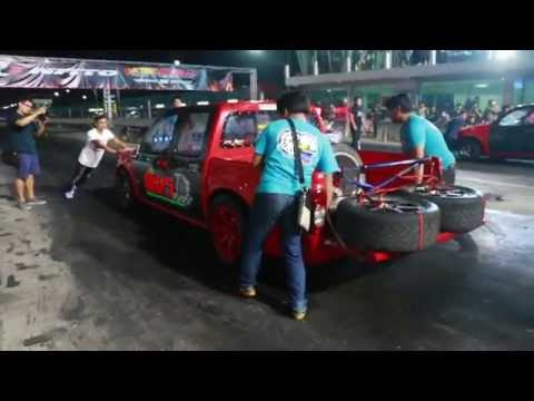 ทีมเสี่ยเชษฐ สระบุรี ขับโดย หมูหยอง100% 7Racing อู่อ.โด่ง สุพรรณ ณ สนามแข่งรถคลอง5 28/5/59