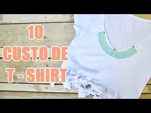 10 id es diy de customisation de tee shirt par youmakefashion customisation de v tements youtube. Black Bedroom Furniture Sets. Home Design Ideas