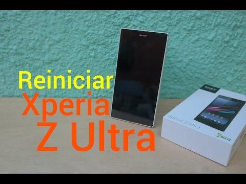 Como Reiniciar - Reparar Sony Xperia Z Ultra
