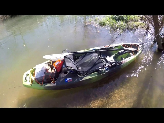 Maiden Voyage Gone Wrong 🤦♂️ Perception Pescador Pro 100 Kayak